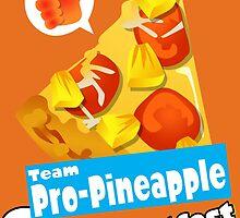 Splatfest Team Pro-Pineapple v.1 by KumoriDragon