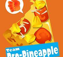 Splatfest Team Pro-Pineapple v.2 by KumoriDragon