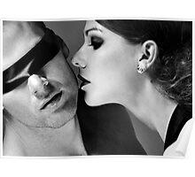 New Desire - sexy prefect calm love erotic art  t-shirts fetish black white valentine beautiful dark Poster