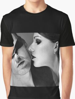New Desire - sexy prefect calm love erotic art  t-shirts fetish black white valentine beautiful dark Graphic T-Shirt