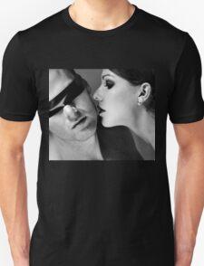 New Desire - sexy prefect calm love erotic art  t-shirts fetish black white valentine beautiful dark T-Shirt