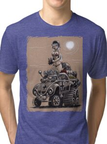 Desert Bettle Tri-blend T-Shirt