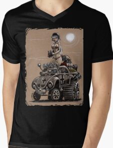 Desert Bettle Mens V-Neck T-Shirt