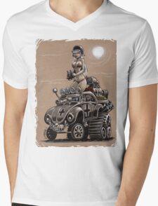 Desert Bettle Mens V-Neck T-Shirt