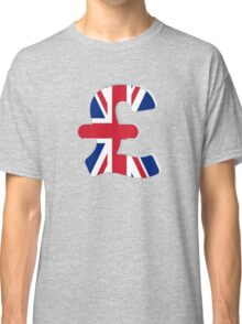 Pounds sterling sign Classic T-Shirt