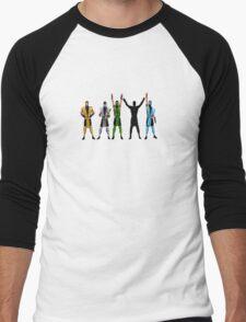 Flawless Victory Men's Baseball ¾ T-Shirt