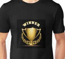 Golden trophy cup Unisex T-Shirt
