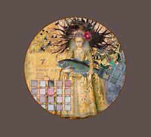 Whimsical Pisces Woman Renaissance fishing Gothic T-Shirt