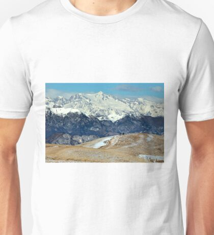 On top of Monte Baldo  Unisex T-Shirt