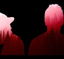 Twenty One Pilots Outline Red Forest by mluna1