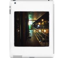 Motel balcony iPad Case/Skin