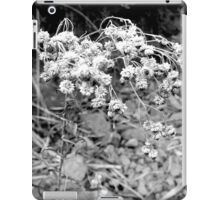 Plants in black and white iPad Case/Skin