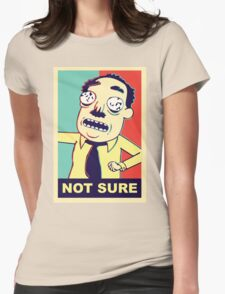 Rick and Morty: Ants in my Eyes Johnson  Womens Fitted T-Shirt