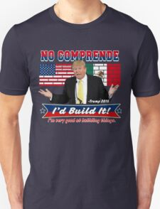 Trump 2016 Build the Wall Original Digital Art Unisex T-Shirt