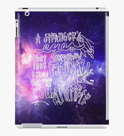 Something Better by AUDIEN Lyrics iPad Case/Skin