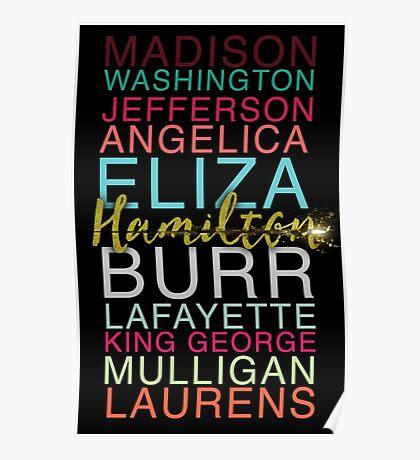 Hamilton's Shot Poster