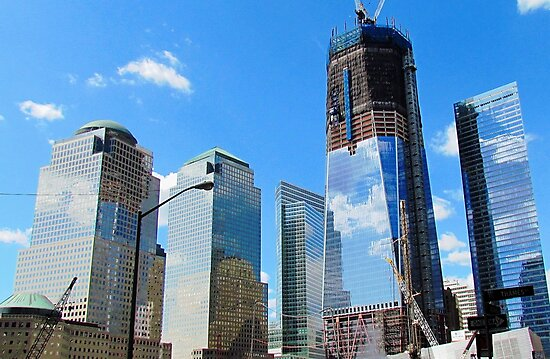 Freedom Tower - New World Trade Center, New York City by Alberto  DeJesus