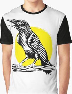 Black Crow Graphic T-Shirt