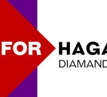 Hagan for Haganistan Sticker