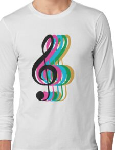 PTX Music Notes Long Sleeve T-Shirt