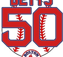 Mookie Betts 50  by bosoxicated