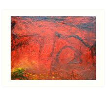 Red Desert Arches Art Print
