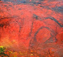 Red Desert Arches by Edward Jeavons