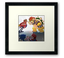 0012 - Baddie Showdown Framed Print