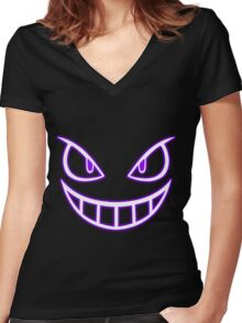 I see you (Light) Women's Fitted V-Neck T-Shirt