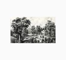 A villa on the Hudson - Currier & Ives - 1869 Unisex T-Shirt