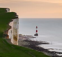 Beachy head Lighthouse New years morning 2016 by willgudgeon