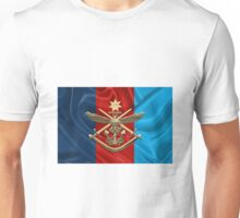 Australian Defence Force - ADF Joint Services Badge over Flag Unisex T-Shirt