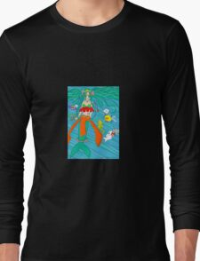 Anime mermaid princess Long Sleeve T-Shirt
