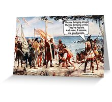Immigration Greeting Card