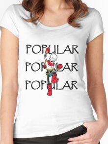 Undertale Papyrus Popular Women's Fitted Scoop T-Shirt