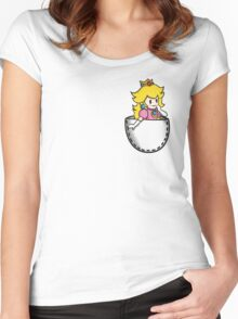 Pocket Peach Women's Fitted Scoop T-Shirt