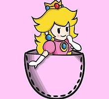 Pocket Peach by Lauramazing