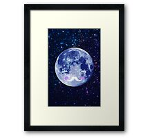 Goodnight moon Framed Print