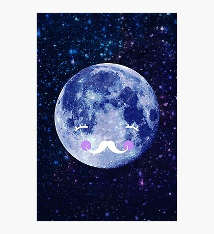 Goodnight moon Photographic Print