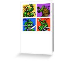 Half Shelled Heroes Greeting Card