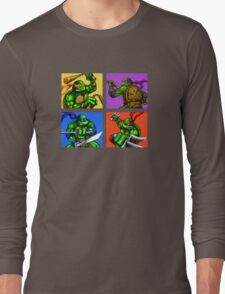 Half Shelled Heroes Long Sleeve T-Shirt