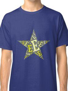 Word Art E Classic T-Shirt