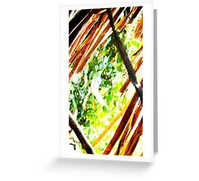 In-between branches Greeting Card