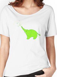 Little Squirt green Women's Relaxed Fit T-Shirt