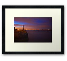 Coliemore Harbour - Dalkey, Ireland Framed Print