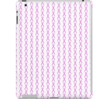 Pink Ribbon with Heart iPad Case/Skin