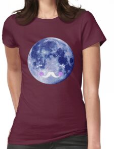 Goodnight moon Womens Fitted T-Shirt
