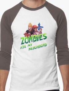 Save Our Neighbors! Men's Baseball ¾ T-Shirt