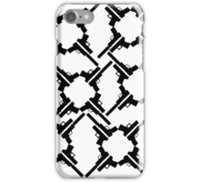 B&W Pistols iPhone Case/Skin