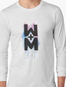 walk the moon logo #2 Long Sleeve T-Shirt